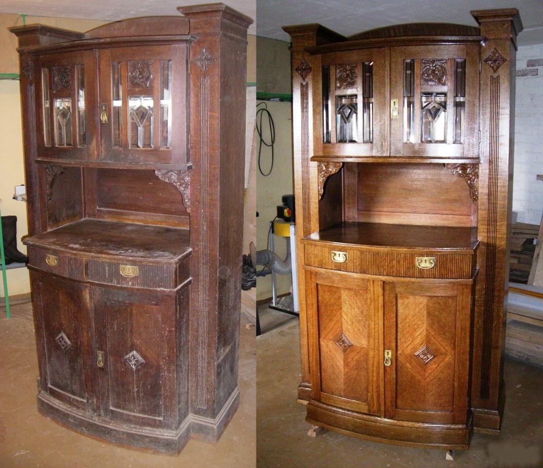 Обновить старую советскую мебель своими руками фото